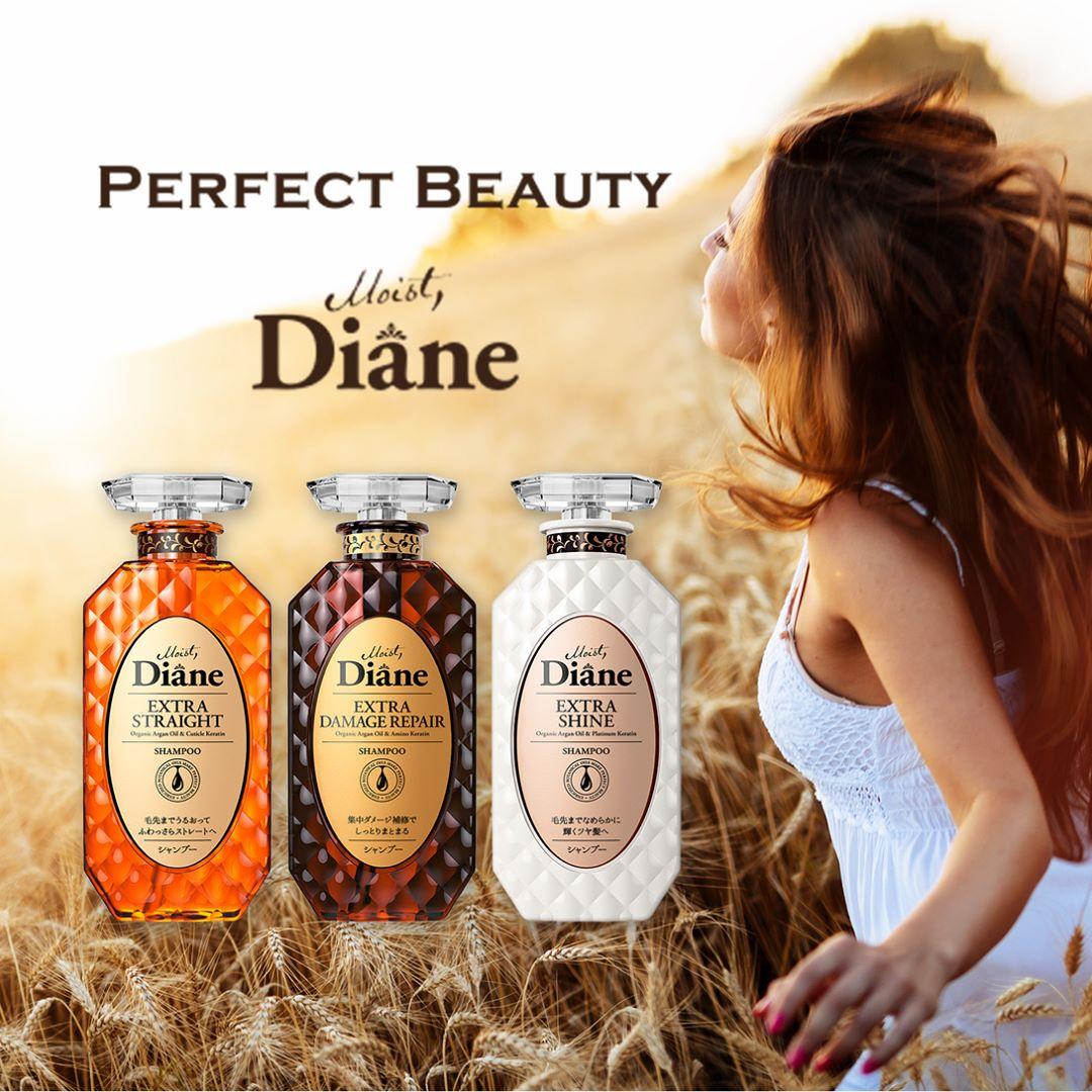 Moist Diane, thương hiệu dầu gội tinh dầu, không silicon hàng đầu Nhật Bản đã phủ sóng khắp Việt Nam