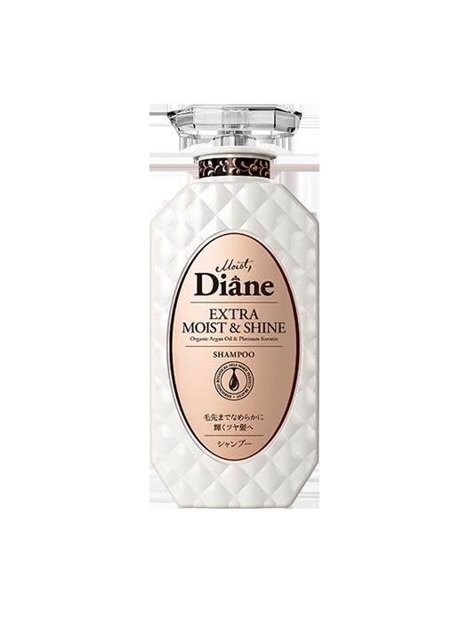 Dầu gội phục hồi tóc sáng bóng Moist Diane Extra Shine