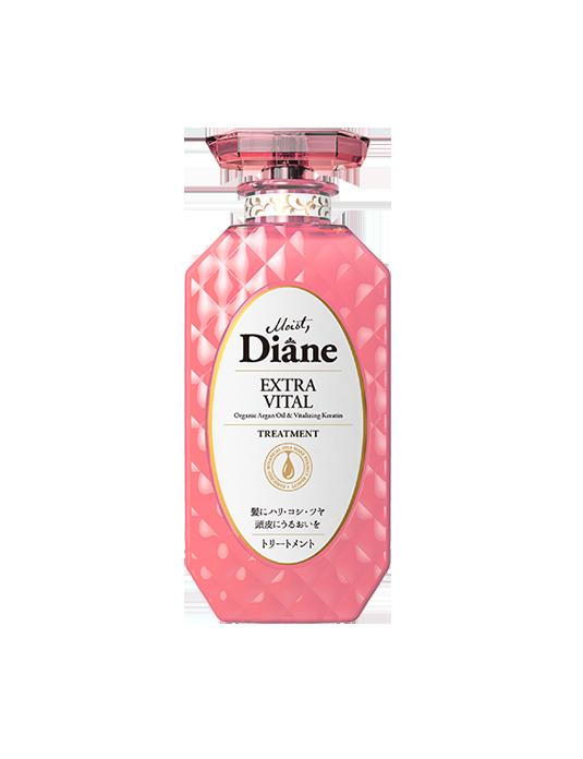 Dầu xả tăng cường sức sống cho tóc yếu Moist Diane Extra Vital