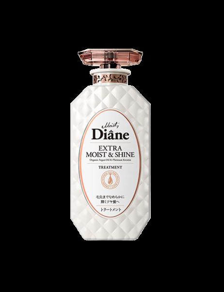 Dầu xả phục hồi tóc sáng bóng Moist Diane Extra Shine