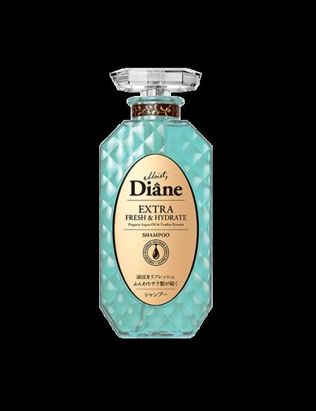 Dầu gội kiểm soát dầu Moist Diane Extra Fresh & Hydrate