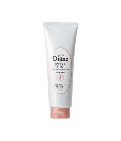 Mặt nạ tóc dành cho tóc nhuộm, xỉn màu Moist Diane Extra Shine