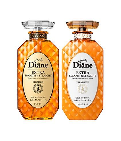 Cặp Gội Xả Vào Nếp Suôn Mượt Moist Diane Extra Straight