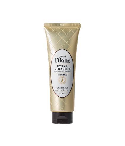 Mặt nạ tóc dành cho tóc không vào nếp suôn mượt Moist Diane Extra Straight