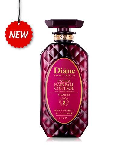 Dầu gội kiểm soát tóc rụng và phục hồi Moist Diane Extra Hair Fall Control
