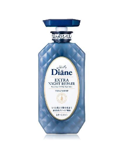 Dầu Xả Ngăn Ngừa Lão Hóa Tóc Ban Đêm Moist Diane Extra Night Repair Treatment